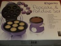 POPCAKE & FONDUE SET (New & Boxed)