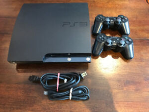 PS3+2 Controllers+9 Games