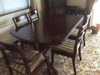 Table & 6 chairs priced to sell