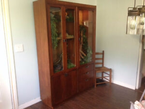 LF  China Hutch, Display cabinet for DIY Reptile Enclosure