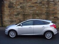 2012 FORD FOCUS 1.6 ZETEC TDCI 5DR (£20 A Year Tax)