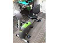 G- RC RECUMBENT MAGNETIC CYCLE EXERCISE BIKE
