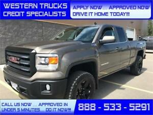 2014 GMC Sierra 1500 SLE 4x4 Z71 LIFTED! 5 min Approval $298 B/W