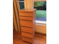 IKEA Chest of 6 Drawers w/Mirror