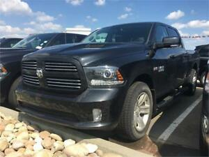 2017 RAM 1500 SPORT C/C REDUCED 20% OFF MSRP GREAT VALUE !!