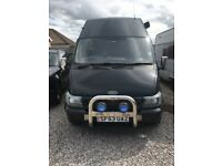 SPOTLESS FORD TRANSIT 2.4 LWB CAMPERVAN - ALL YOU NEED IS YOUR CLOTHES & FOOD!!