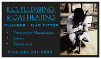 R.C's Plumbing and Gas Heating