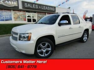 2013 Chevrolet Avalanche LTZ  4X4, LEATHER, NAVI, ROOF, DVD, REA