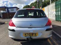 2010 (10 reg) Peugeot 308 1.6 VTi S 5dr Automatic Petrol Low Miles