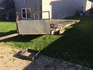 Zieman 8X12 tilt deck trailer