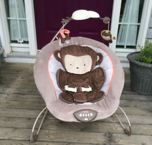 Monkey Bouncer Chair (Fisher Price) - Like New - only $20 !