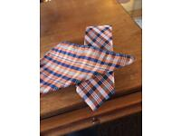 100% silk tie and pocket square