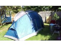 FREE! khyam alaska6 - 6person man tent FREE!