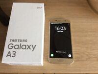 Samsung galaxy A3 (2017) Gold sand colour