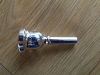 Genuine SCHILKE 51B Small shank Trombone Mouthpiece - Silver EXCELLENT CONDITION