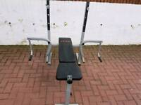 Weight training bench