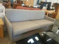 Modern fawn two seated single sofa bed