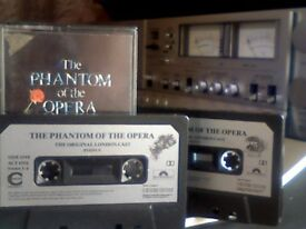 ANDREW LLOYD WEBBER - THE PHANTON OF THE OPERA PRERECORDED DOUBLE CASSETTE TAPES 2x Chrome cassettes