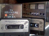 ANDREW LLOYD WEBBER - THE PHANTON OF THE OPERA PRERECORDED DOUBLE CASSETTE TAPES 2x Chrome cassettes