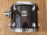 Yamaha Oak Custom 12x9 Tom Musashi Black Finish