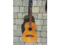 Vintage Classical Guitar made by Weltton