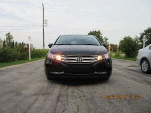 2014 Honda Odyssey EX with rear entertainment system