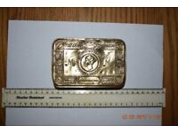 1ST WORLD BRASS GIFT BOX FOR SERVICE MEN FROM QUEEN MARY