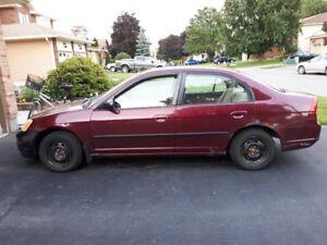 SOLD 2003 Honda Civic Sedan - $600 or best offer