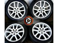 """16"""" Genuine VW alloys 5x112, good condition, great matching tyres."""