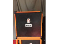 Orange OBC bass 4x10 Cab