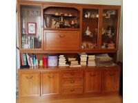Wooden Display Cabinet - urgent due to relocation