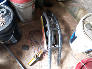 atv winch bumper