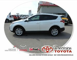 2013 Toyota RAV4 Limited Local, One Owner, Leather, Heated Se...