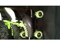 Roller skates adult size 9