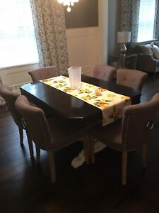 6 Dining Chairs Mint Condition!