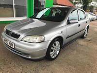 2002 Vauxhall/Opel Astra 1.6i - MOT UNTIL: 14 March 2018 - 2 Keys