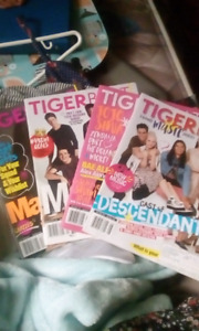 Small collection of tigerbeat magazines