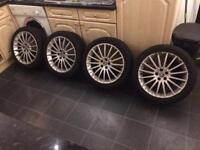 "Genuine Alfa Romeo 17"" multispoke alloy wheels"
