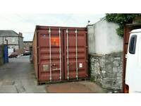 TO LET, 40,FT CONTAINER IN SECURE YARD WITH OUTSIDE YARD SPACE