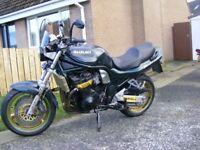1999 suzuki 1200 bandit n , exellent bike , loads of extras