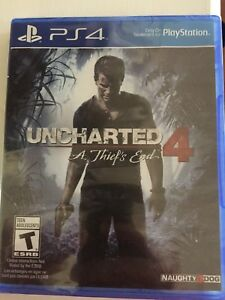 Uncharted 4 PS4 sealed