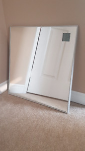 Ikea HOVET mirror with clock