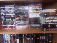 Huge DVD Movies, Animes, and TVBoxsets collection wholesale or collector. ~500 discs in total