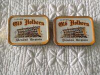 2 x Lloyds Old Holborn Golden Blended Virginia Tobacco Tins