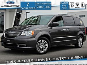 2016 Chrysler Town & Country Touring-L **CUIR*GPS*DVD*TOIT**