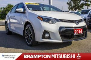 2014 Toyota Corolla S LEATHER MOONROOF HTD SEATS BACKUP CAM