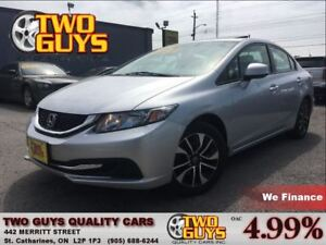 2013 Honda Civic EX SUNROOF ALLOYS