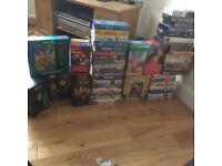 VARIOUS VHS FILMS