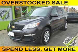2014 Chevrolet Traverse LS FWD w/PDC, Yours For $79 Week
