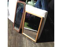Habitat pine frame mirror